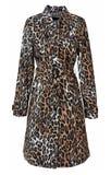 Cappotto del leopardo fotografia stock