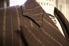 Cappotto del vestito di Men's sulla forma del vestito Fotografia Stock