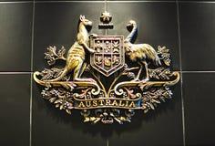 Cappotto delle braccia australiano Immagini Stock
