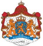 Cappotto delle braccia dei Paesi Bassi royalty illustrazione gratis