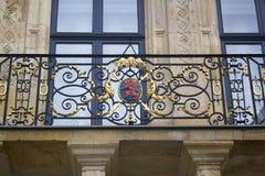 Cappotto delle braccia del Lussemburgo Immagine Stock Libera da Diritti
