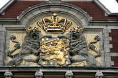 Cappotto delle braccia - Paesi Bassi fotografie stock libere da diritti