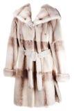 Cappotto delle donne di pelliccia Immagine Stock Libera da Diritti