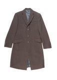 Cappotto di lana degli uomini. Fotografia Stock Libera da Diritti