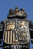 Cappotto di Madrid delle braccia immagini stock libere da diritti