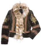 Cappotto di pelliccia immagine stock