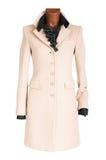Cappotto femminile fotografia stock