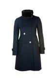 Cappotto femminile della lana | Isolato fotografia stock libera da diritti
