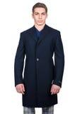 Cappotto maschio Fotografie Stock