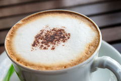 Cappuccino καφέ. Στοκ Φωτογραφία