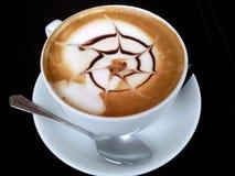 Cappuccino ! Photographie stock libre de droits