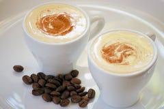 cappuccino Obraz Royalty Free