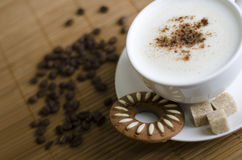 cappuccino Στοκ φωτογραφίες με δικαίωμα ελεύθερης χρήσης