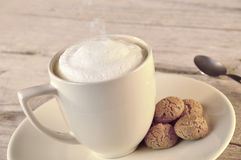 Cappuccino Stockfotografie