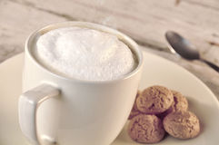 Cappuccino Stockfoto