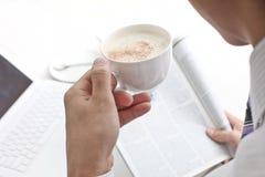 Cappuccino, Lizenzfreies Stockbild