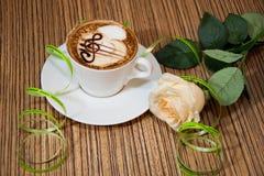 cappuccino Royalty-vrije Stock Afbeeldingen
