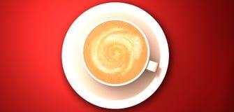 cappuccino Stock Foto's
