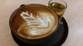 cappuccino arkivfoton