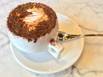 cappuccino Photo stock