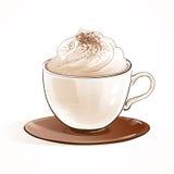 cappuccino ilustração royalty free