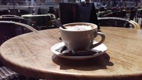 cappuccino Royaltyfri Fotografi