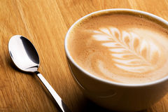 Cappuccino Imágenes de archivo libres de regalías