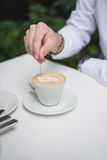 cappuccino Arkivbilder