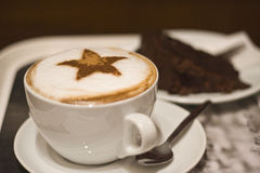Cappuccino Photo libre de droits