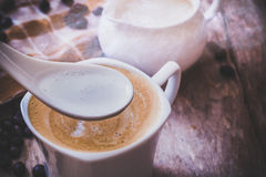 cappuccino Immagini Stock Libere da Diritti