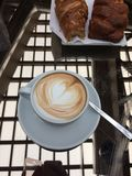 cappuccino Royalty-vrije Stock Afbeelding