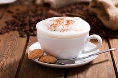 Cappuccino acabado Foto de archivo