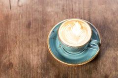 Cappuccino acabado Imagen de archivo libre de regalías