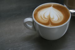 Cappuccino art Royalty Free Stock Photos