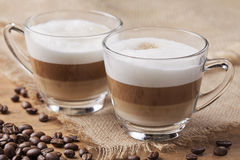 Cappuccino caffee Stock Photo