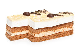 Cappuccino cake Stock Photography
