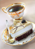Cappuccino cake Stock Photos