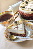 Cappuccino cake Royalty Free Stock Photo