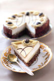 Cappuccino cake Stock Photo