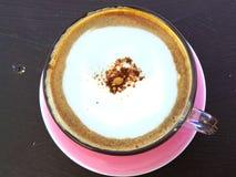 Cappuccino caldo della tazza di caffè Immagine Stock Libera da Diritti