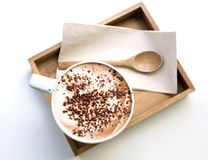 cappuccino cappuccino kubek Zdjęcie Royalty Free