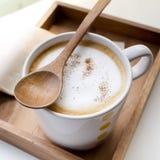 cappuccino Cappuccino rifinito Fotografie Stock Libere da Diritti
