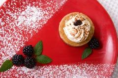 Cappuccino Cheesecake Stock Photo