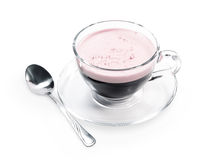 cappuccino chyorny kawy menchii skóra Obraz Stock