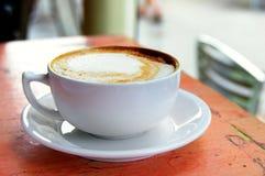 Cappuccino closeup Stock Image