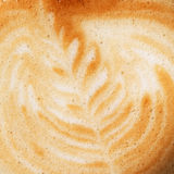 Cappuccino closeup photo Royalty Free Stock Photo