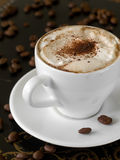 Cappuccino coffee Stock Photography