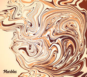 Cappuccino coffee colors vector marble background Royalty Free Stock Images