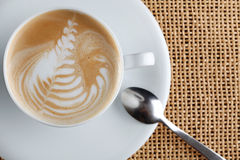 Cappuccino coffee cup Royalty Free Stock Photography