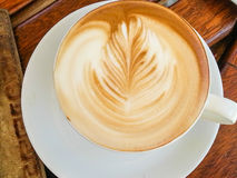 Cappuccino coffee Stock Images